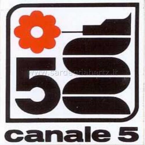 Canale 5: vari loghi storici