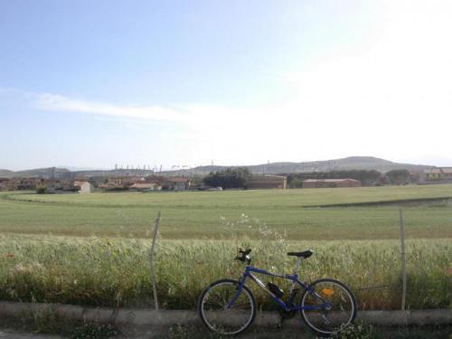 Samatzai: panoramica da Est