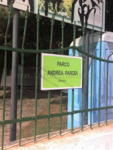 Targa ingresso parco